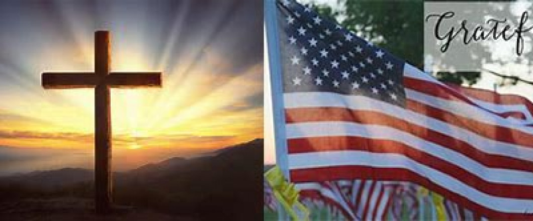 Grateful for our country, and for those who have fought and are now fighting for our Freedoms! May God Bless America